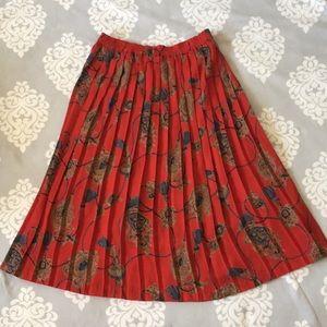 Alfred Dunner - Long Red Skirt